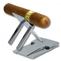 Zigarrenbank Edelstahl