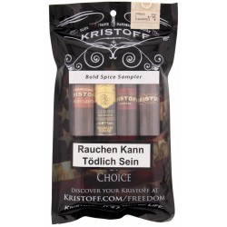 Kristoff Bold Spice Sampler (4 Zigarren)