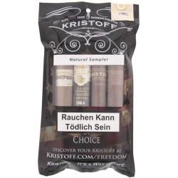 Kristoff Natural Sampler (4 Zigarren)